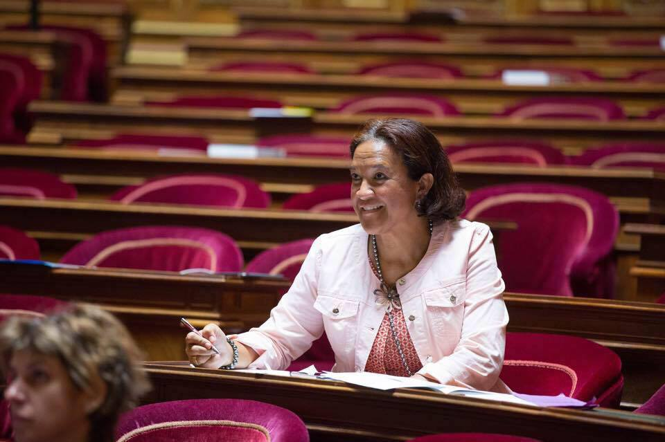 Lana Tetuanui est aussi présidente de la commission de cadrage de la loi Morin.