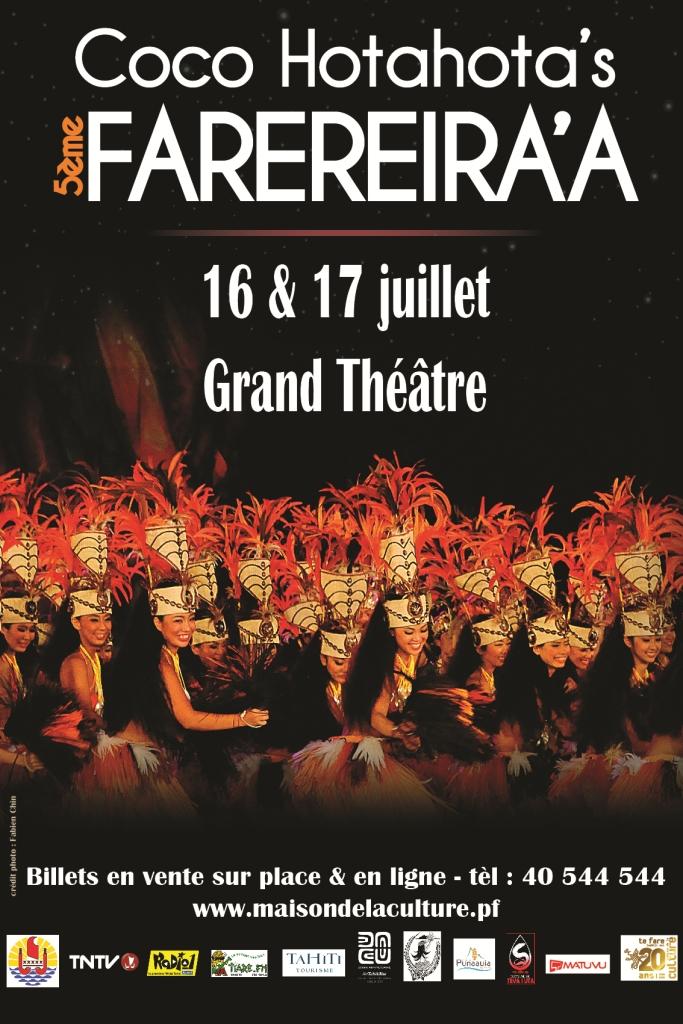 La 5e édition du Farereira'a aura lieu les 16 et 17 juillet