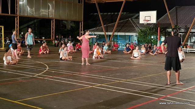 Pour cette légende, la troupe Hei Tahiti s'est inspirée des récits des anciens de Huahine.