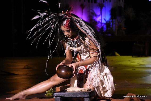 La prestation de Tamari'i To'ahotu Nui en photos