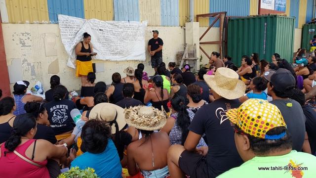 Heirurutu chantera la légende de Mōi'o Pārapu