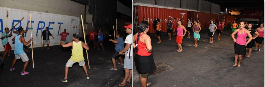 Une centaine d'artistes représentera le groupe Parata, sur la scène de To'atā, jeudi soir.