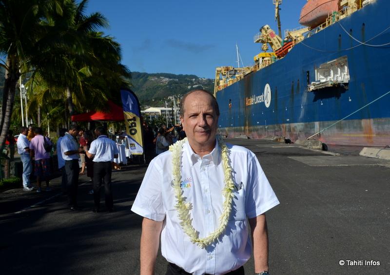 Jean-François Martin, président-directeur général de l'OPT