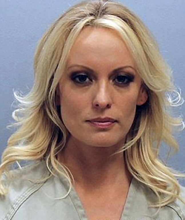 L'actrice porno Stormy Daniels. (Photo : HANDOUT / FRANKLIN COUNTY SHERIFF'S OFFICE / AFP)