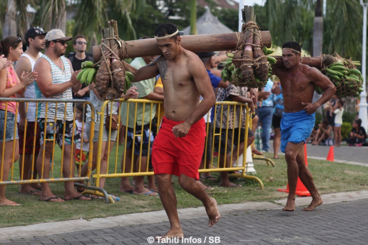 Moehau Tematahotoa porte le tubercule emblématique des Australes, le taro