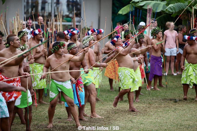 Le concours du lancer de javelot est porté par les Tuamotu