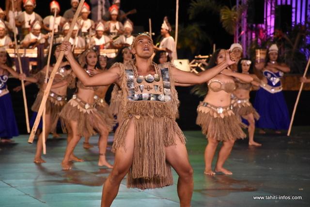 Heiva i Tahiti : la prestation de Parata en photos