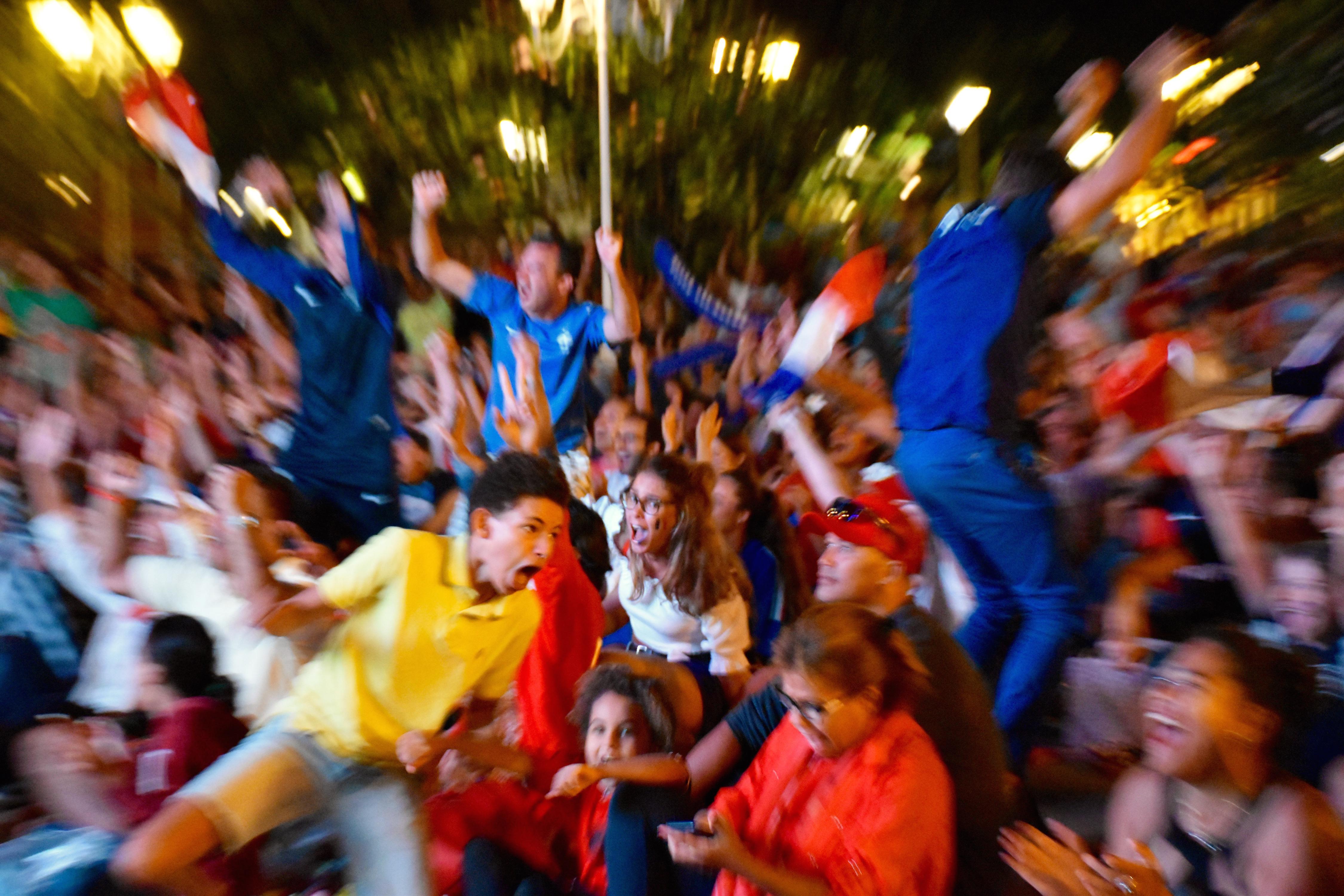 Place Vaiete : La finale de la coupe du monde en image