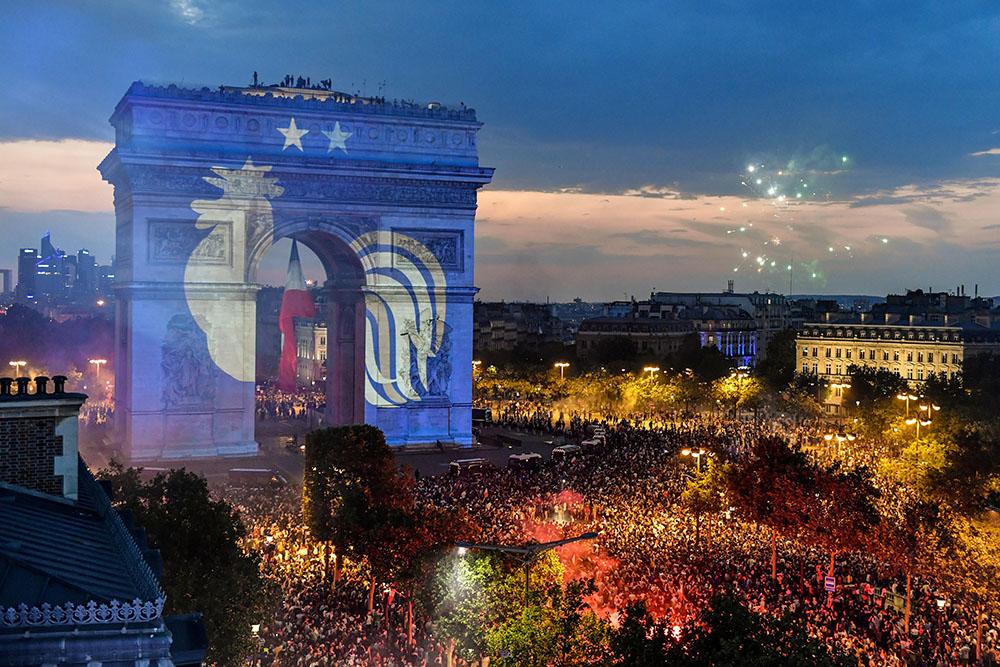 Mondial-2018: des incidents en marge des rassemblements festifs à Paris et en régions