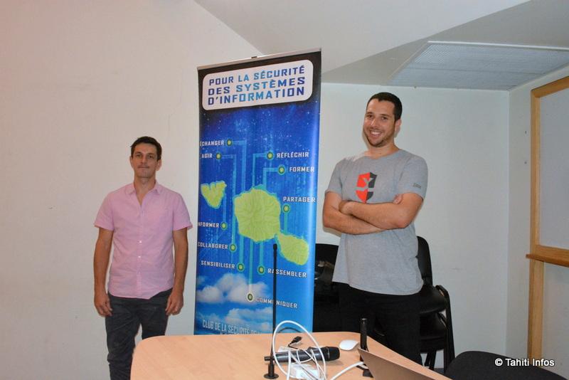 Jean-Pierre Claude (Clusir Tahiti) et Benjamin Lafois (IBM X-Foce Red)