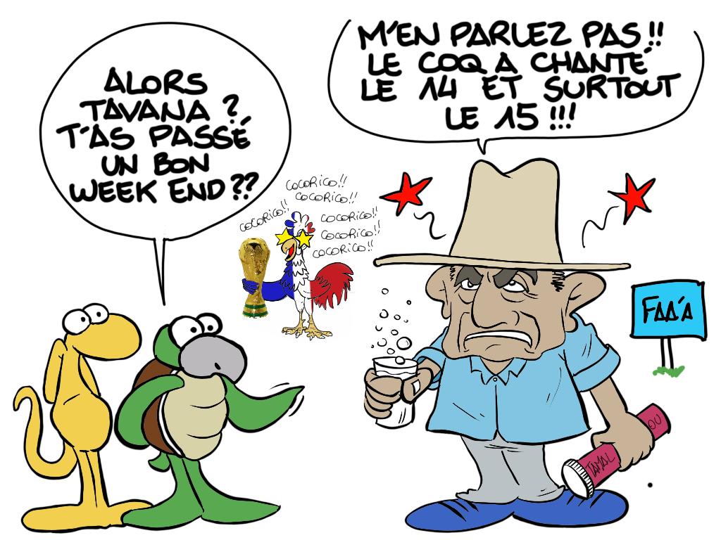 """"""" Le coq a chanté """" par Munoz"""