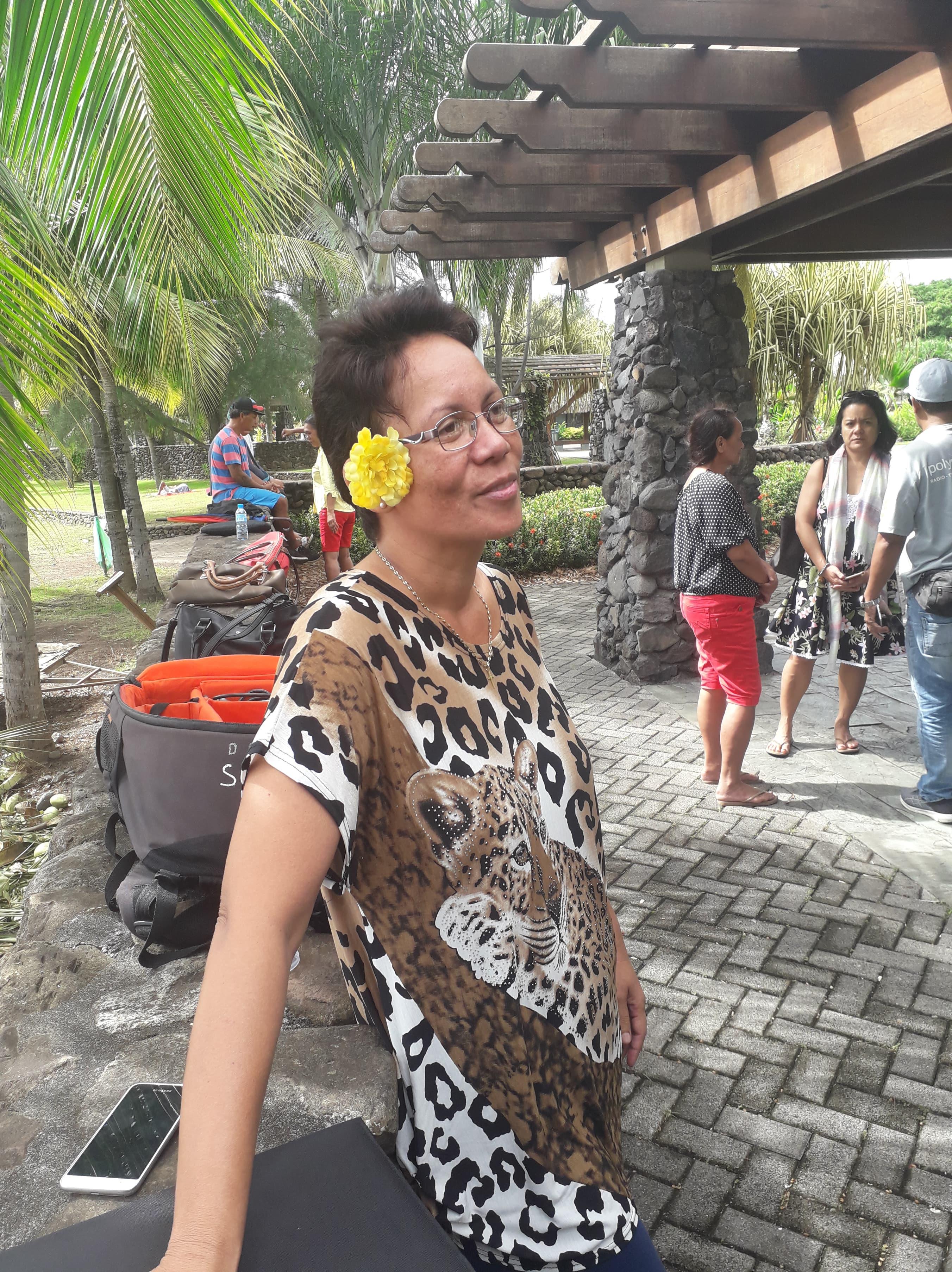 Sylviana Thieme, secrétaire académique d'UNSA-ITRF, syndicat  qui encadre la corporation des non-enseignants dans l'éducation.