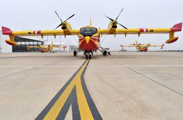 La France envoie deux Canadair en Suède pour combattre les feux