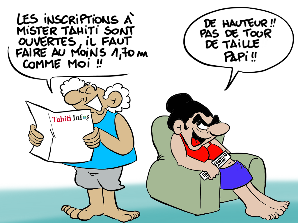 """ Casting de Mister Tahiti 2018 "" par Munoz"