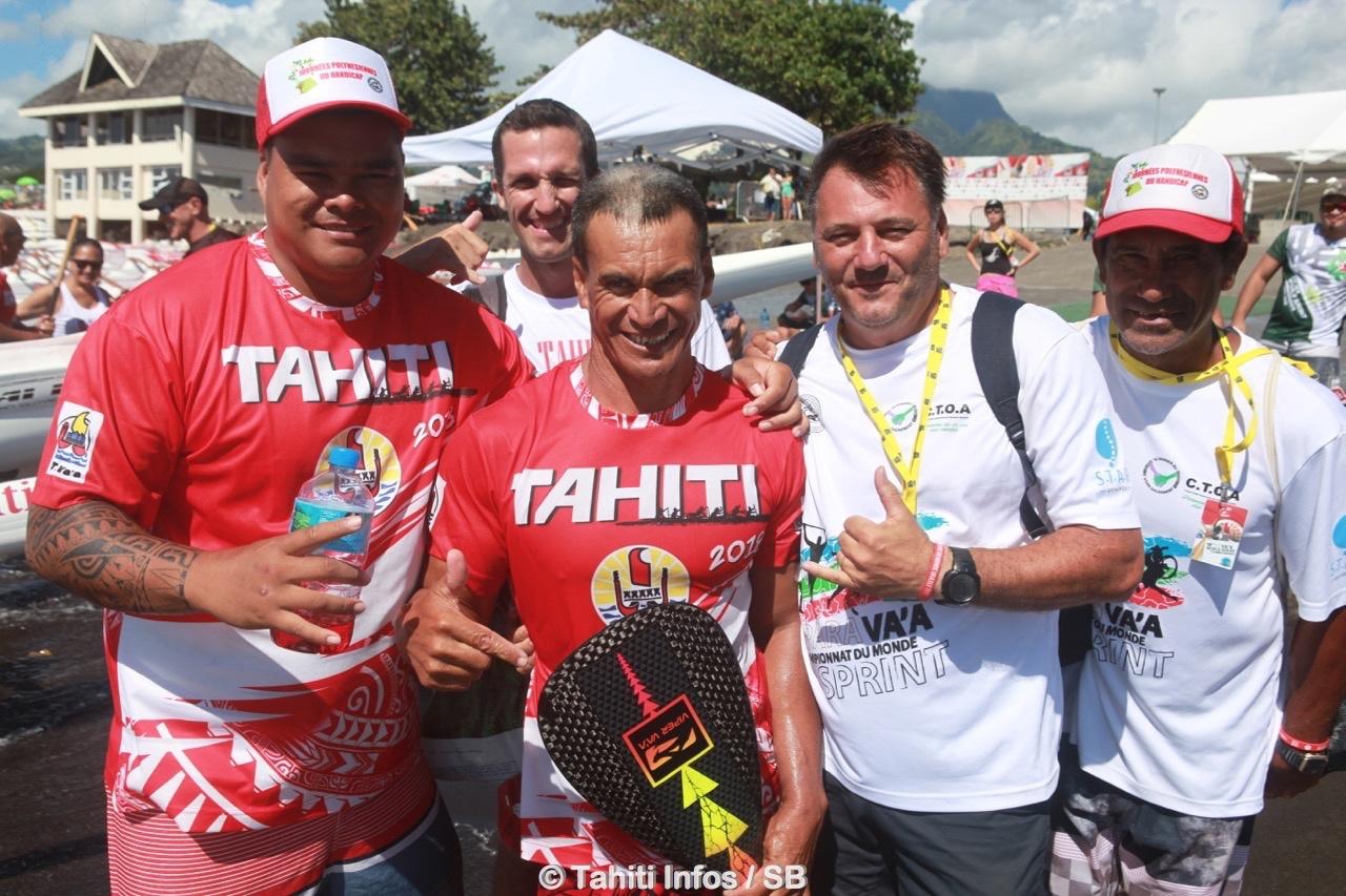 Patrick Viriamu, fer de lance du handisport tahitien