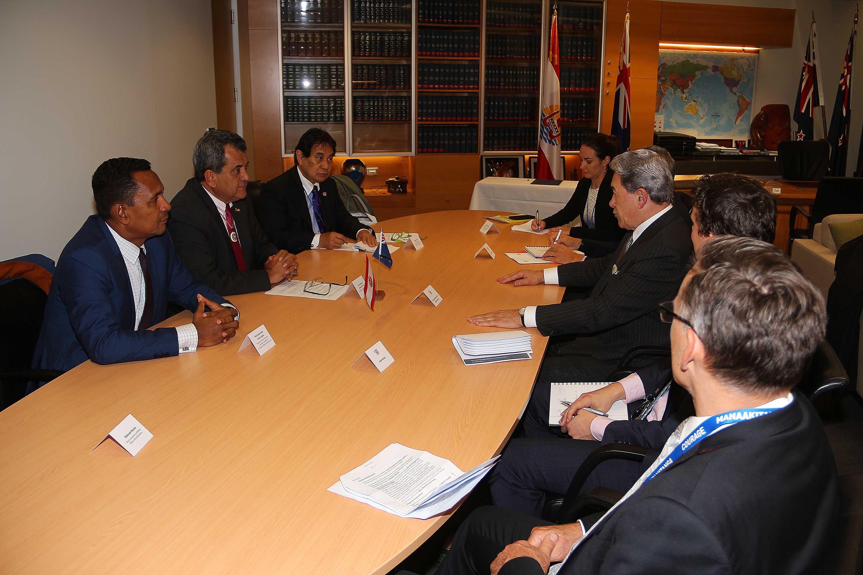 Signature d'un Plan de coopération entre la Polynésie française et la Nouvelle-Zélande