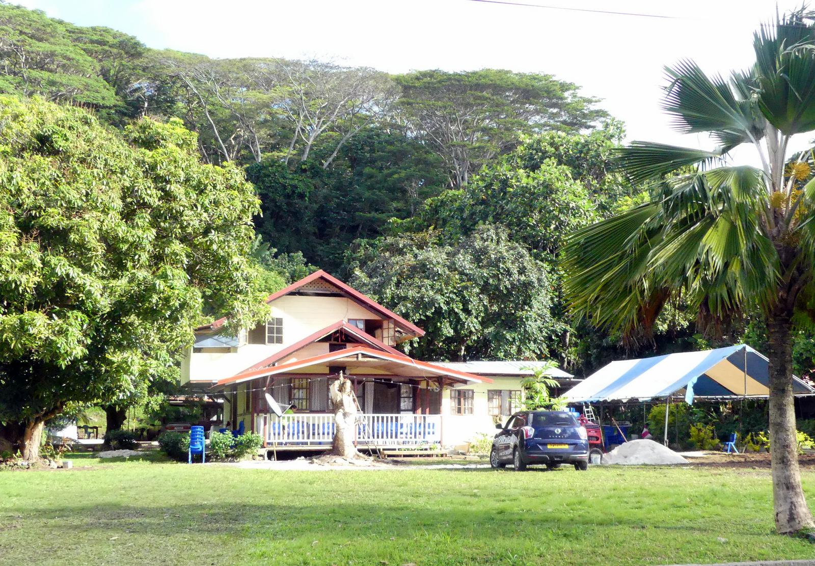 Un drame a eu lieu ce mardi après-midi  sur la commune de Tumara'a à Raiatea, dans une propriété familiale. (Photo : PRM).