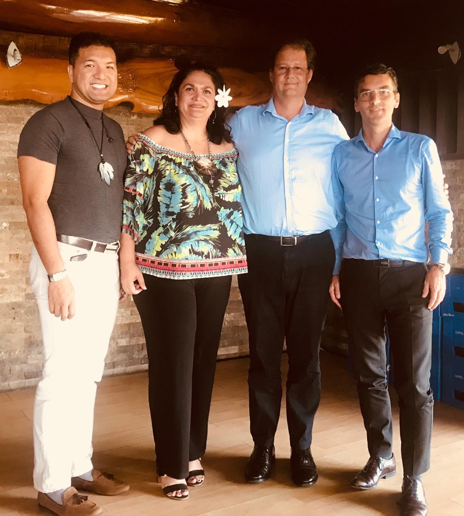 La ministre du Tourisme rencontre le nouveau directeur régional d'Air France en Polynésie