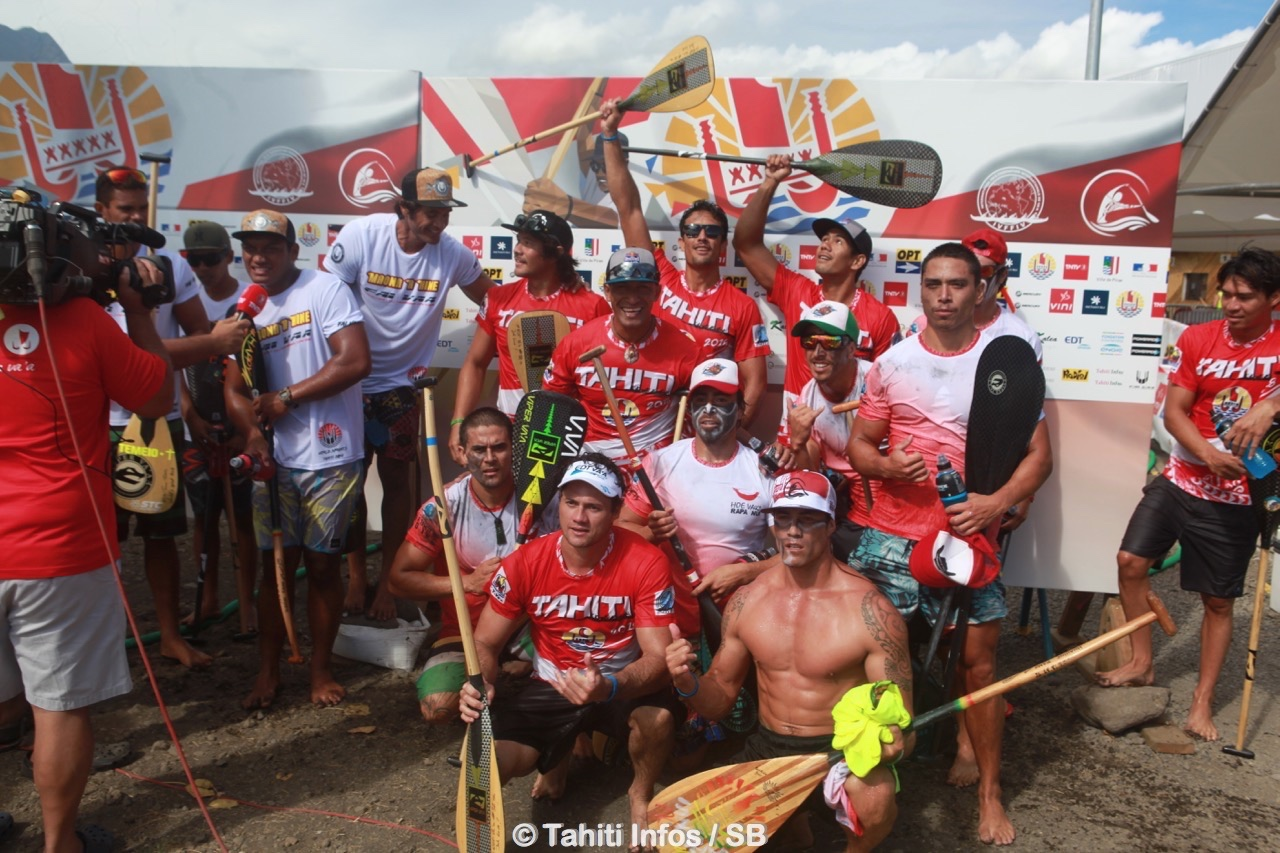 Tahiti est désormais assuré de remporter ces 18e championnats du monde