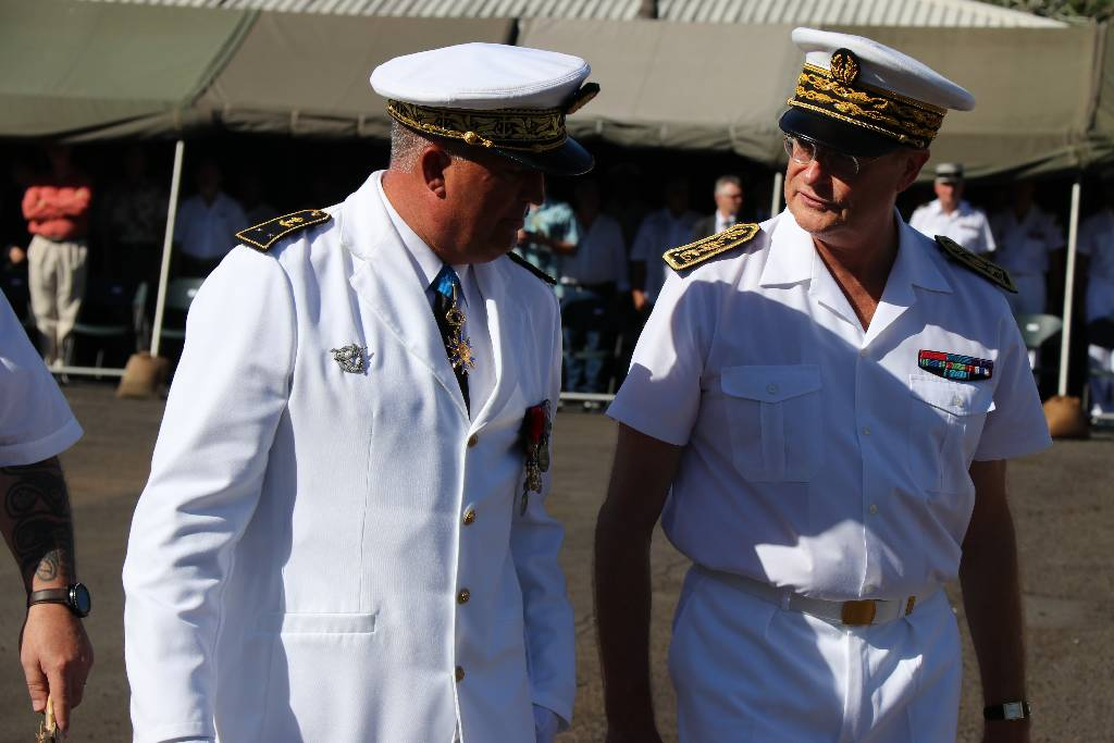 Laurent Lebreton, nouveau commandant supérieur des forces armées