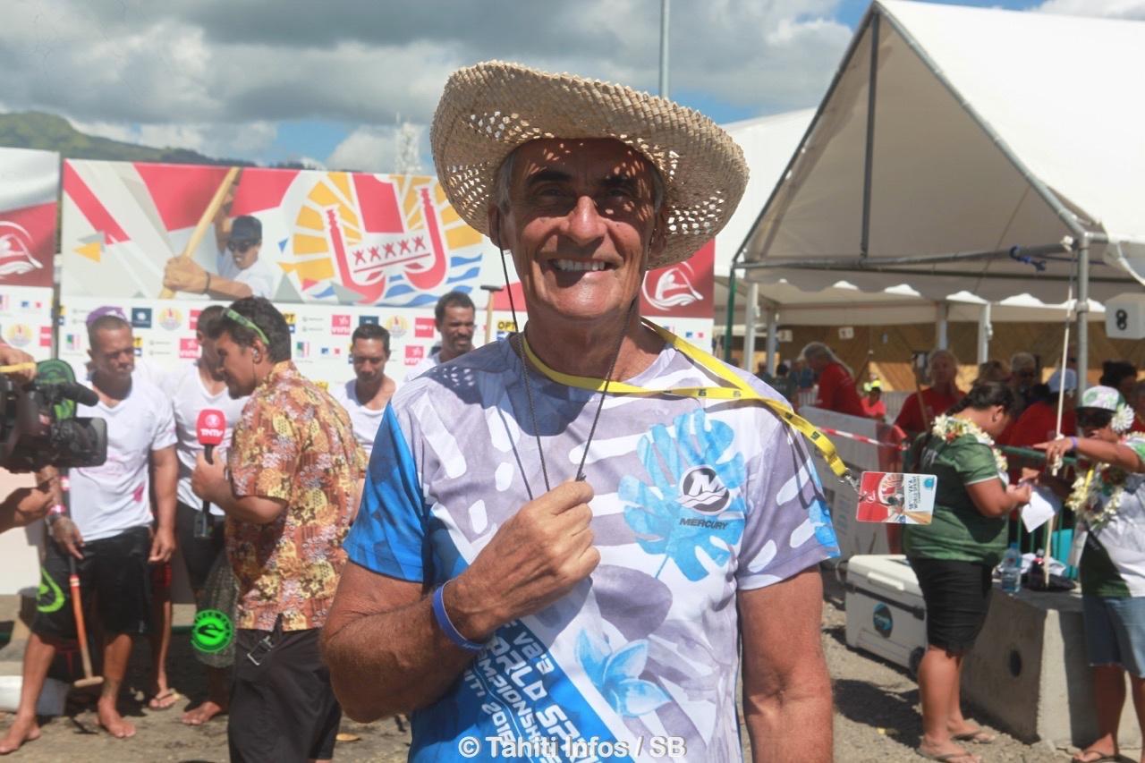 Jean Chicou, président du comité organisateur local