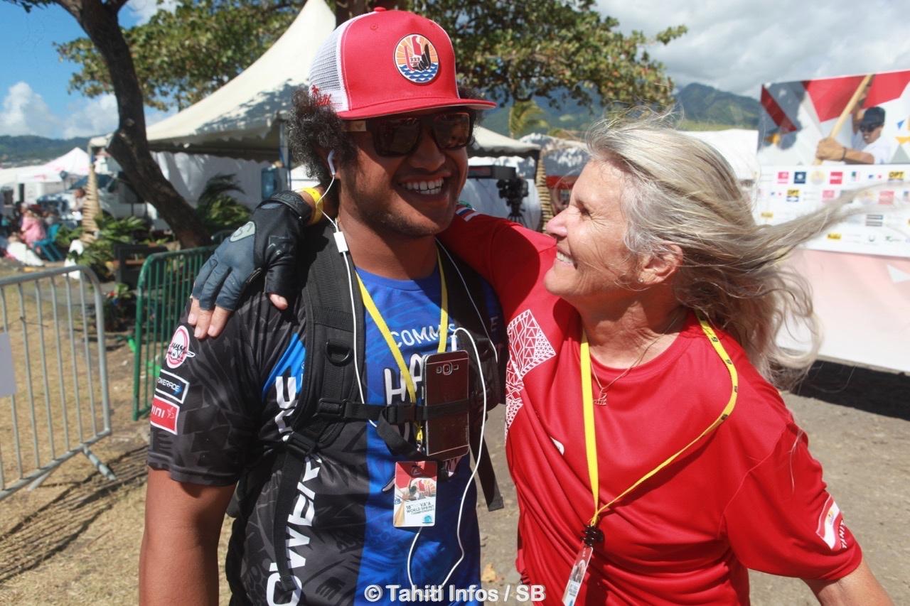 Tepou Kelly, bénévole de Punaauia