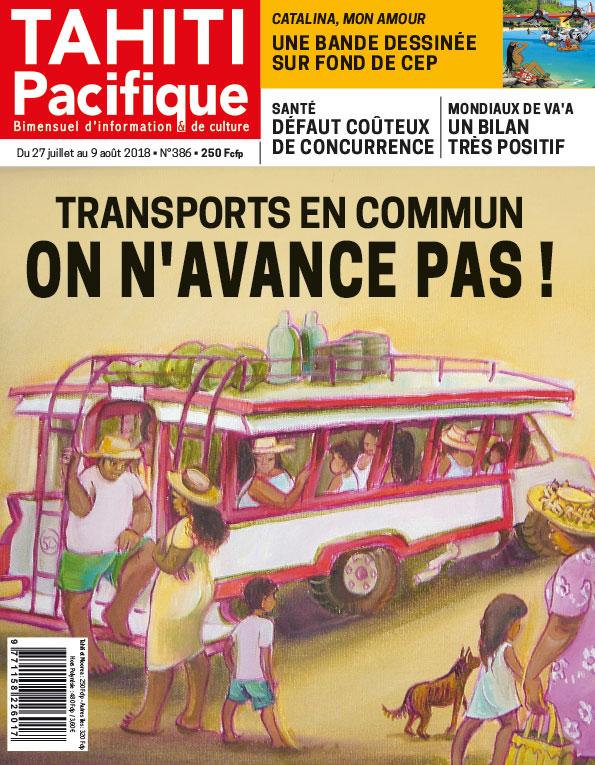 À la Une de Tahiti Pacifique, vendredi 27 juillet