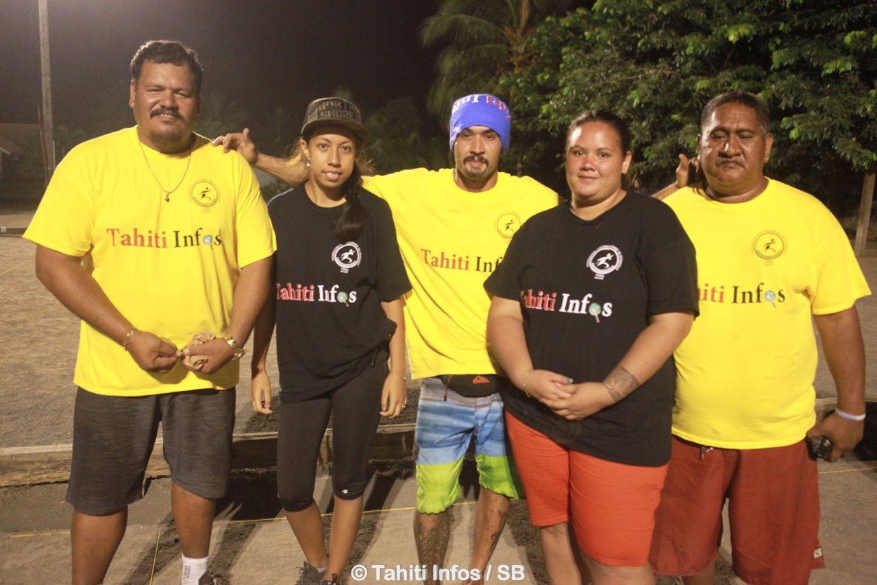 Les grands gagnants du Trophée Tahiti Infos
