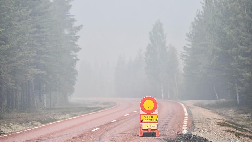 Incendies: la situation s'améliore en Suède, les secours français se retirent