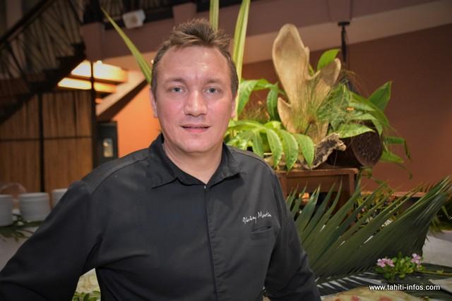 Jérémy Martin, le chef exécutif de cuisine du Méridien.