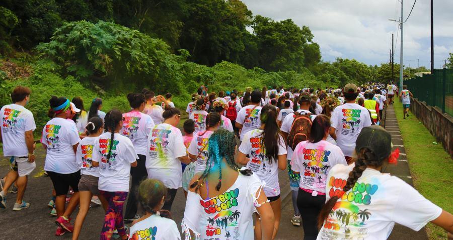 Les participants devront parcourir 2 km pour finir le parcours.