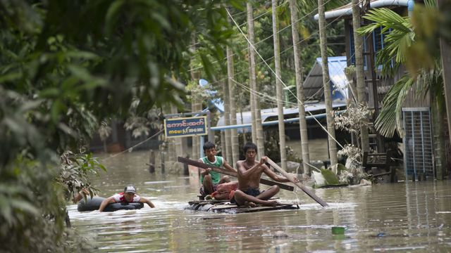 La Birmanie et ses voisins inondés par une mousson particulièrement intense
