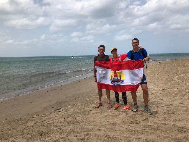 Escale en Colombie avec l'ultra marathonien Patrick Candé