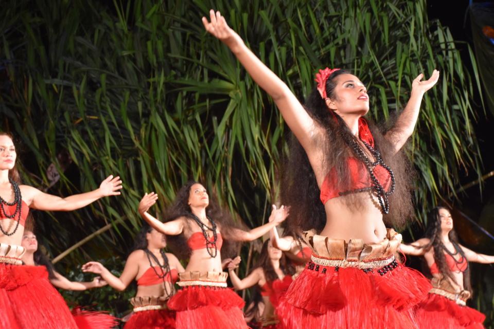 Intercontinental : Hei Tahiti a fait le show au mini heiva vendredi