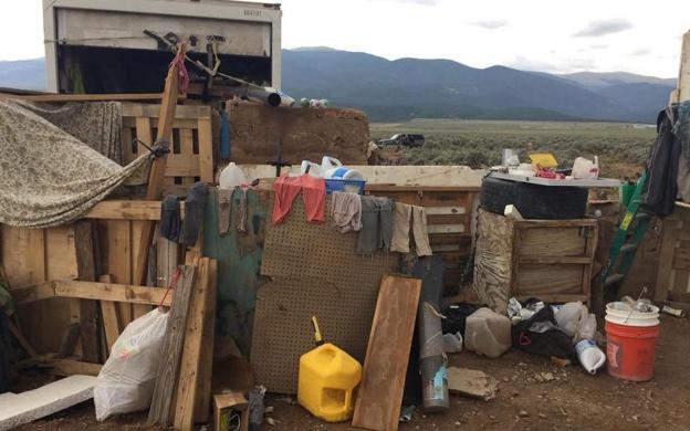 USA: le corps d'un enfant retrouvé dans un campement de fortune