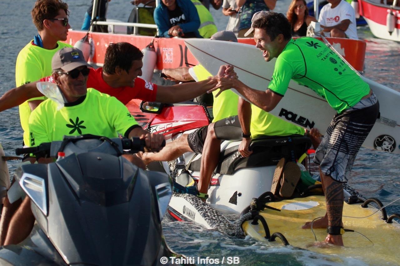 Les Trials 2018 resteront comme un moment fort pour le surf tahitien