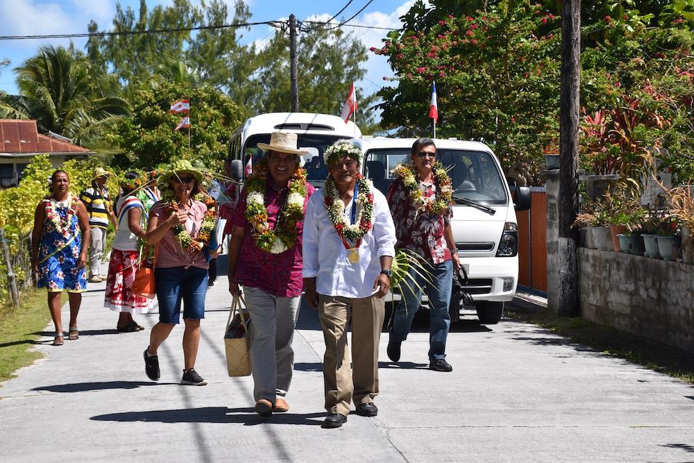 """Mission du gouvernement dans """"les îles que l'on ne visite pas souvent"""""""