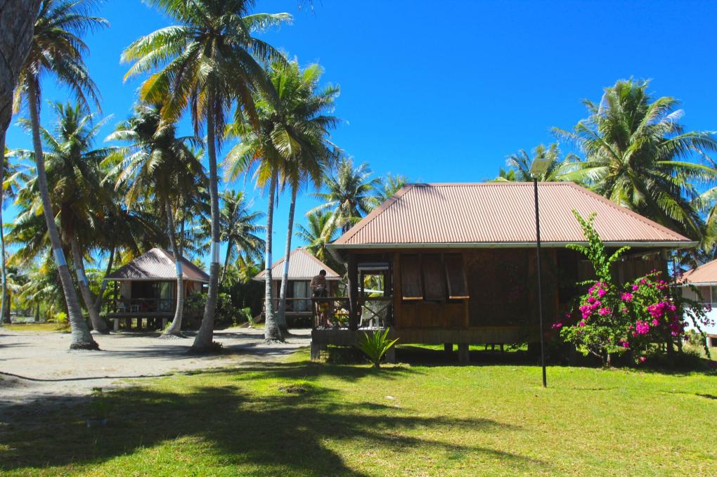 Une vue des bungalows dispersés dans un cadre enchanteur, loin du bruit et de toute pollution.