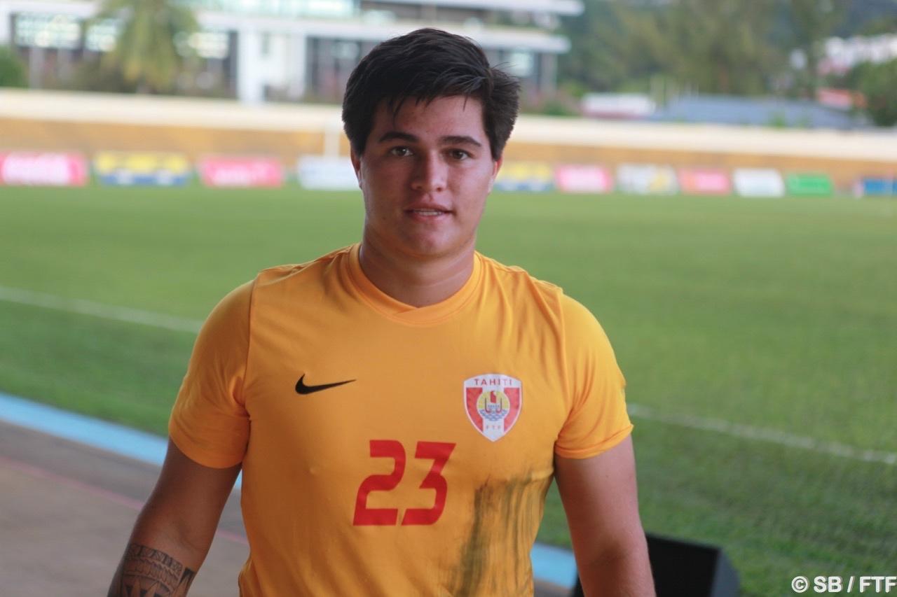 Moana Pito, capitaine de la sélection