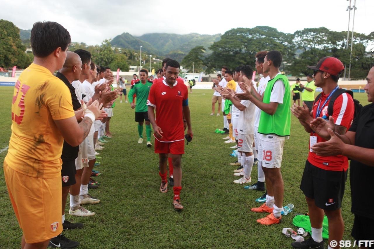 Tonga a quitté le tournoi avec les honneurs