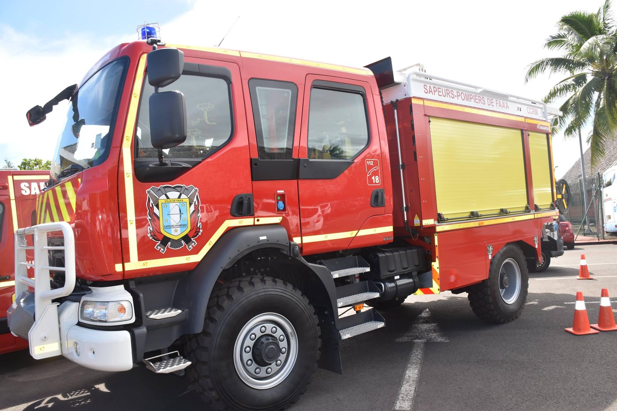 Le centre s'est doté dernièrement d'un fourgon qui leur permettra de renforcer leurs interventions sur les incendies.