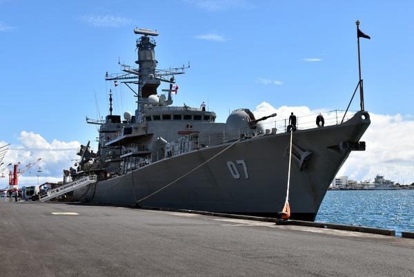 Le Navire chilien Almirante Lynch fait escale à Papeete