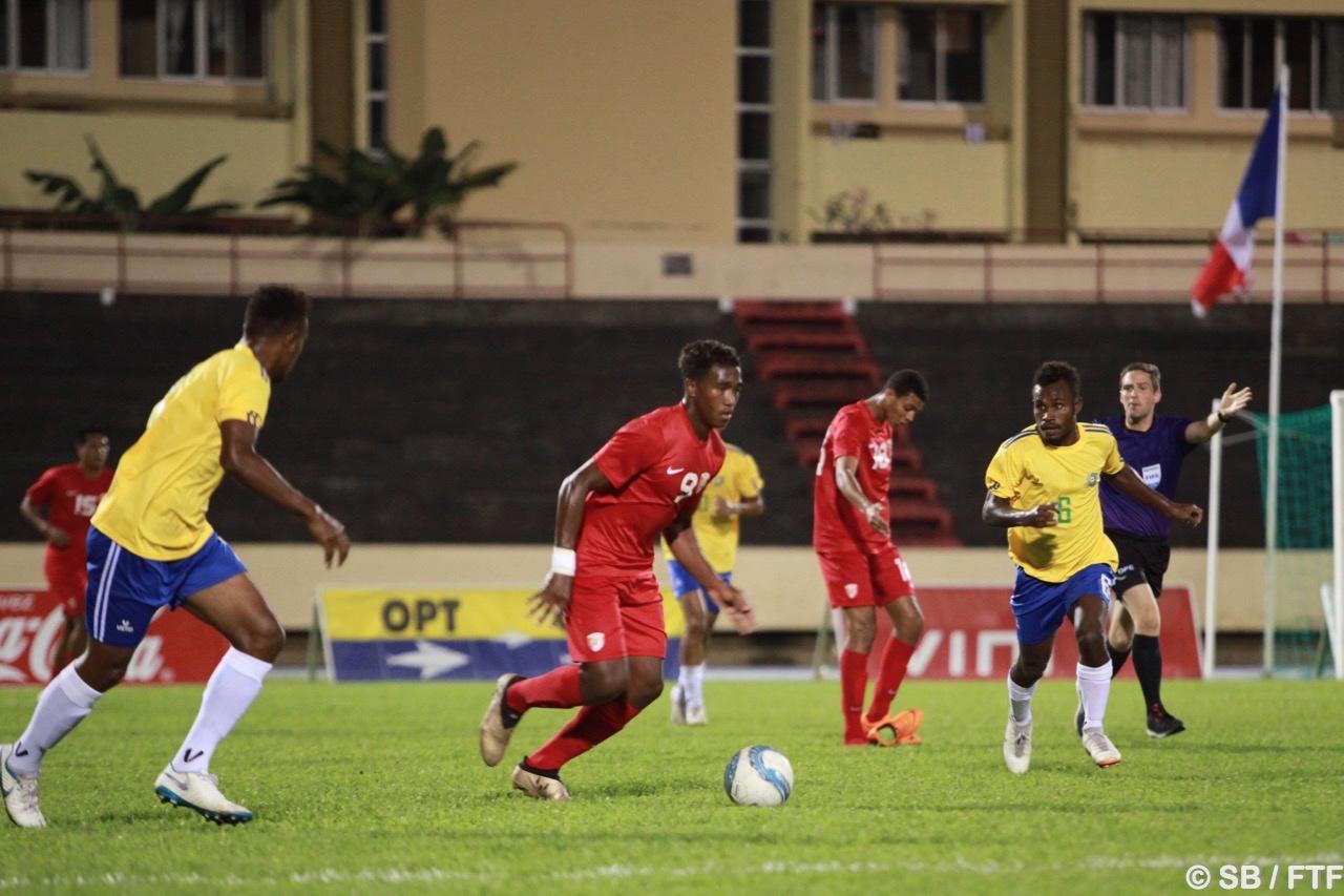Une finale avant la finale pour Tahiti
