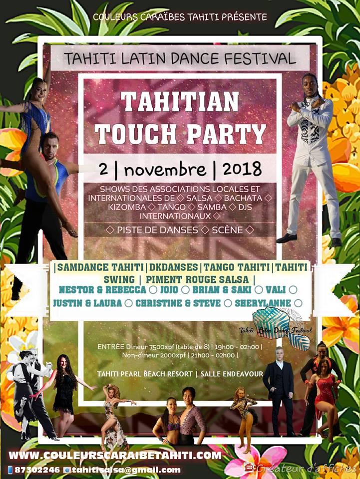 Le 1er festival de danses latines est annoncé pour novembre