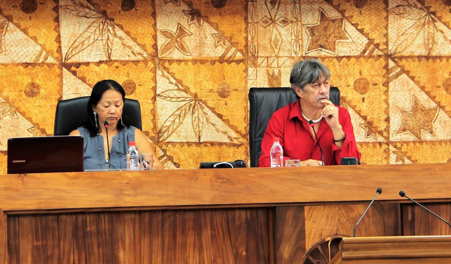 Un projet de loi du Pays sur les annonces judiciaires de la Polynésie française est en cours de finalisation et devrait être étudié prochainement à l'assemblée.