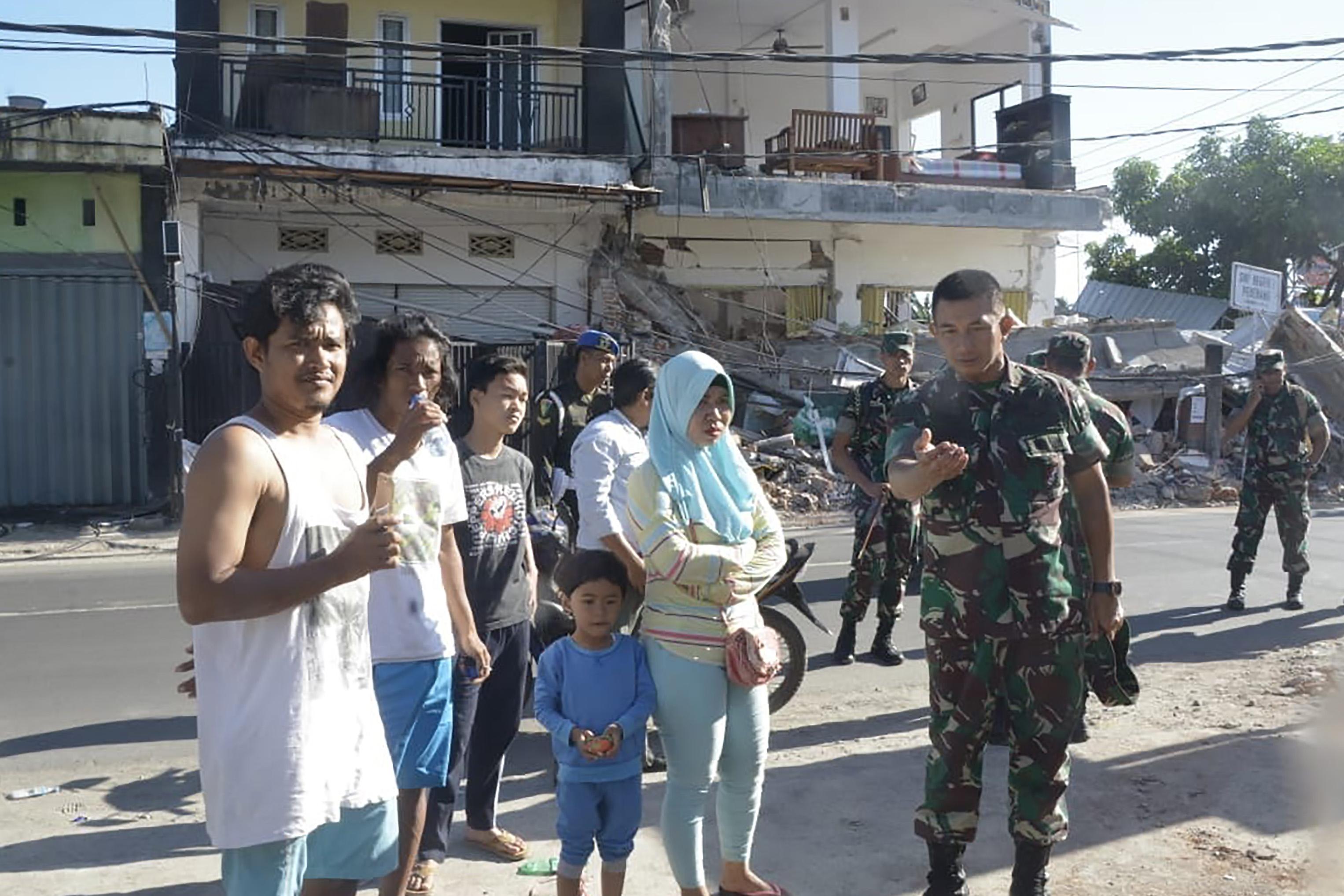 Indonésie: l'île de Lombok secouée par un séisme de 6,3