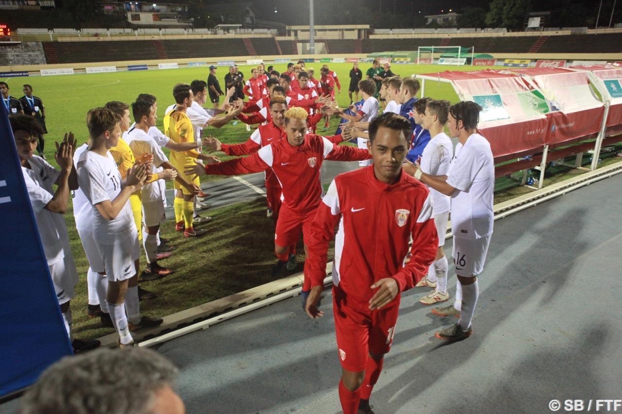 La sélection tahitienne termine deuxième du tournoi