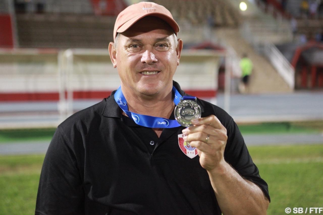 Bruno Tehaamoana, coach de la sélection