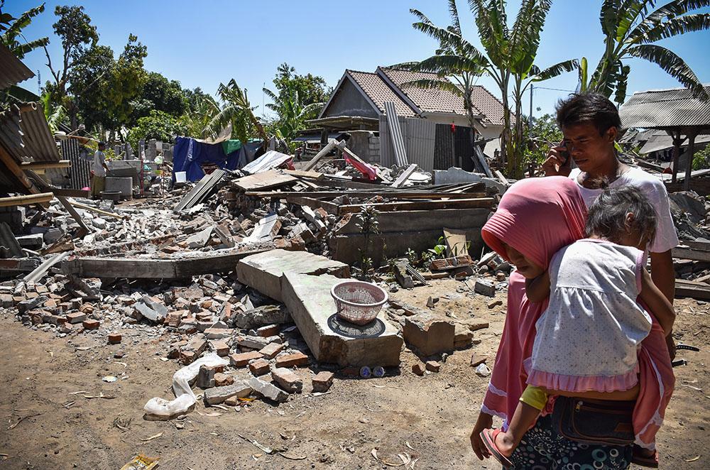 Indonésie: de multiples séismes frappent l'île de Lombok, 10 morts