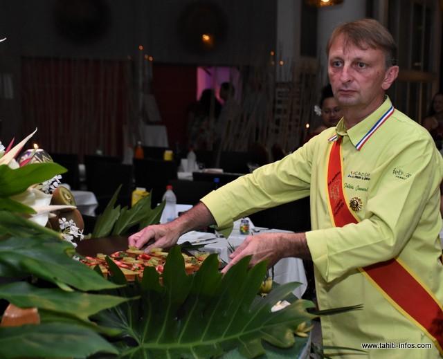 Reconnu dans le milieu, Frédéric Jaunault est en Polynésie pour trois semaines.